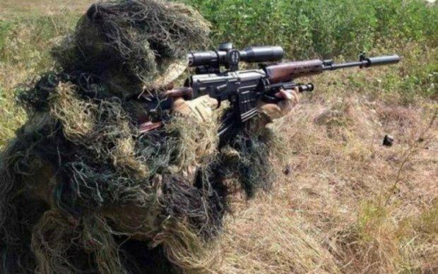 """Украинские снайперы показали своих """"возлюбленных"""""""