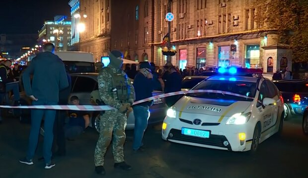 поліція, скріншот з відео