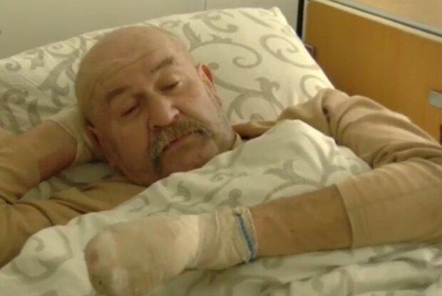 Чоловік з обмороженням, фото: кадр з відео