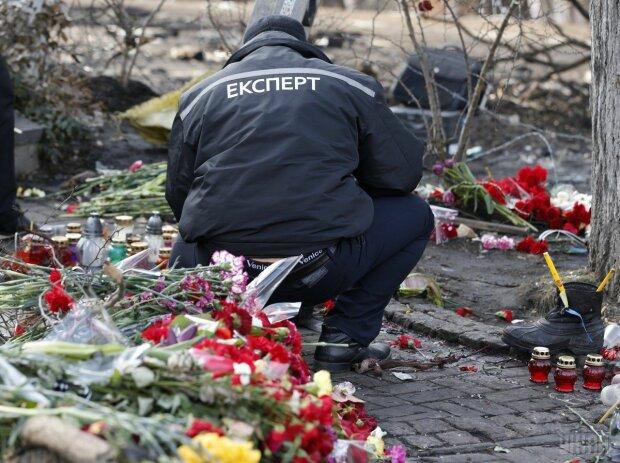 Річниця Майдану: розстріли людей, Униан