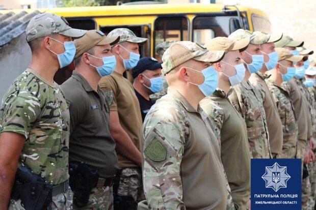 Патрульных Хмельницкого отправили в зону ООС