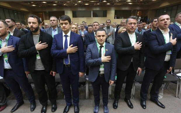 """партия """"Слуга народа"""", Униан"""