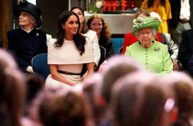 Меган Маркл і Єлизавета II, фото: REUTERS