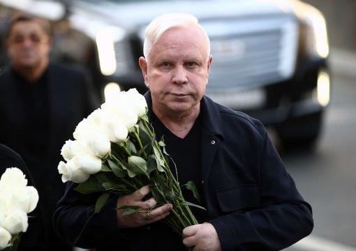 На прощании с Кобзоном чуть не похоронили Моисеева: фото