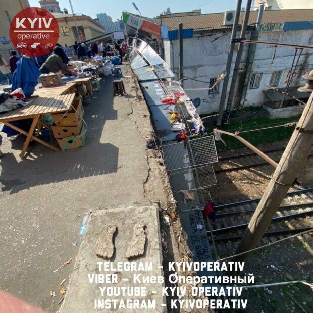 """Кличко """"подарил"""" киевлянам рухнувший мост перед выборами"""