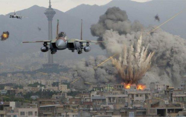 Страшні наслідки ракетного удару по Сирії зняли на камеру