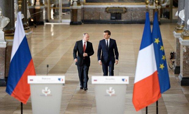 Путін та Макрон обговорили президентство Зеленського і Україну: деталі зустрічі