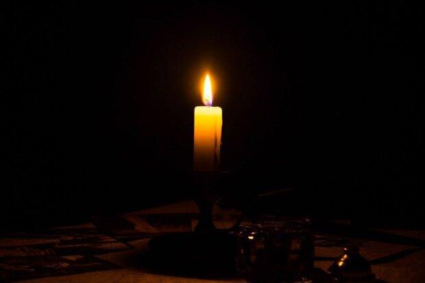 Свічка скорботи, фото: скріншот з відео