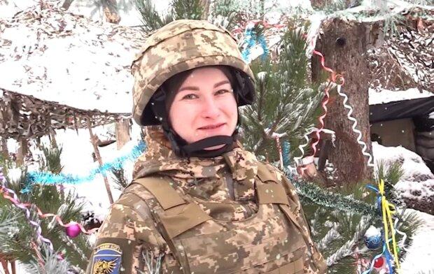привітання воїнів ЗСУ, скріншот з відео
