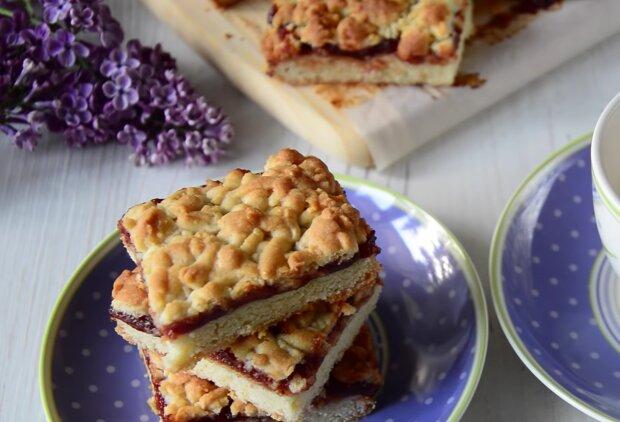 Тертый пирог, кадр из видео