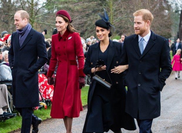 Меган Маркл стала між братами: принци бачаться усе рідше, назріває сімейна драма