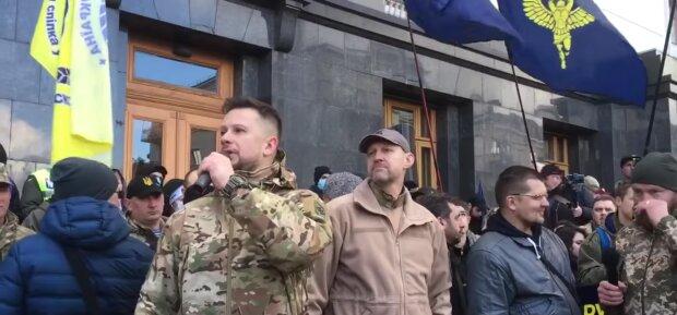 лідер Нацкорпусу Андрій Білецький