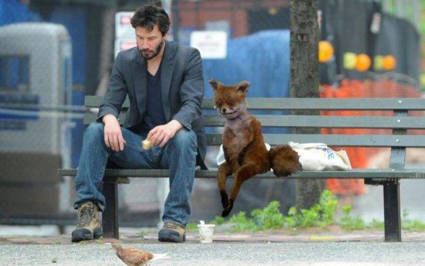 Кіану Рівз як стан душі: босий і сумний актор знову став мемом