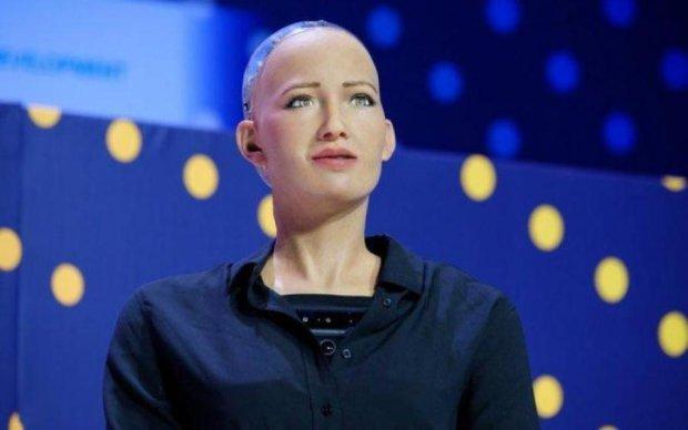 Складе конкуренцію Бейонсе: робот Софія заінтригувала музичними планами