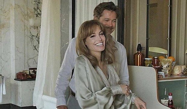 Зіркове подружжя Пітт і Джоллі милуються на зйомках фільму (фото)