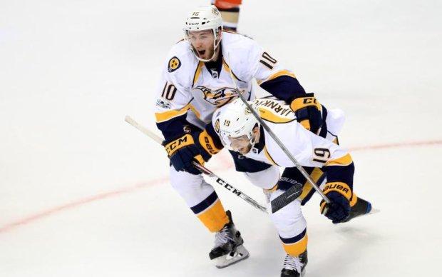 НХЛ: Нешвілл в овертаймі обіграв Анахайм і повів у серії