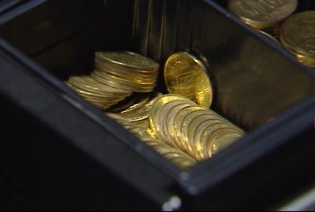 монеты, скриншот с видео