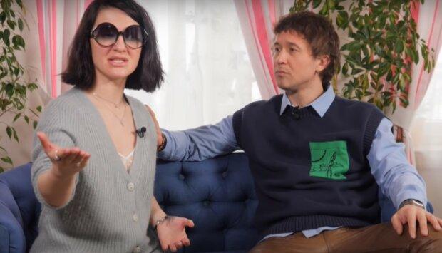 Сергей и Снежана Бабкины, скриншот из видео