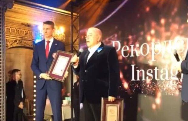 Евгений Петросян, скриншот с видео