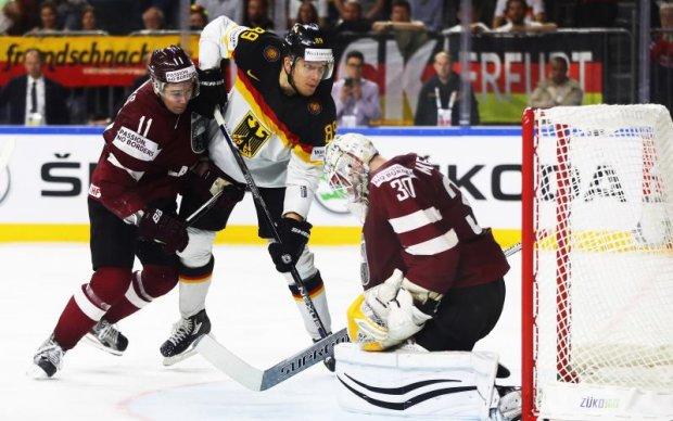 Німеччина - Латвія 4:3 Відео найкращих моментів матчу ЧС-2017 з хокею