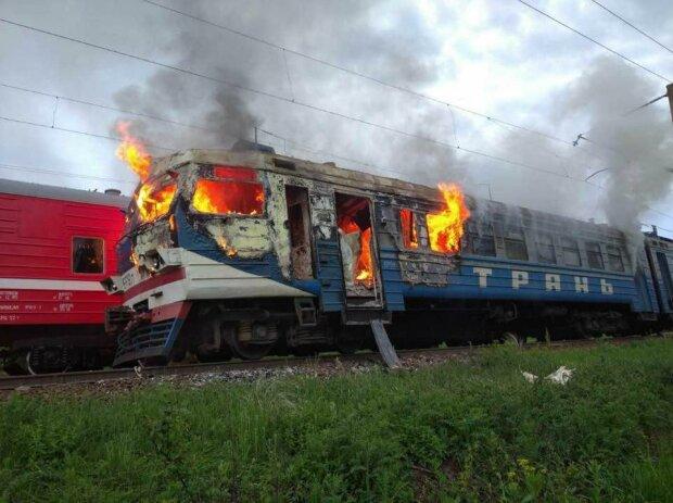 Поезд, фото PavlovskyNews