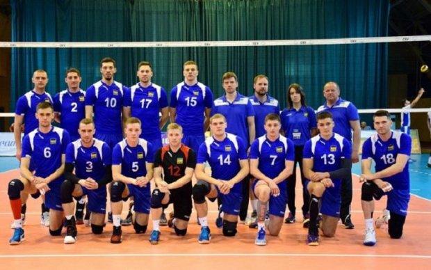 Збірна України з волейболу переграла Ізраїль в Євролізі