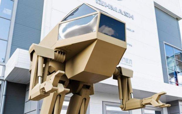 Росія хотіла похвалитися бойовим роботом, але отримала лише сотні глузувань у мережі