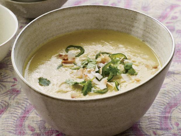 Кокосовый крем-суп с цветной капустой: когда хочется чего-то необычного