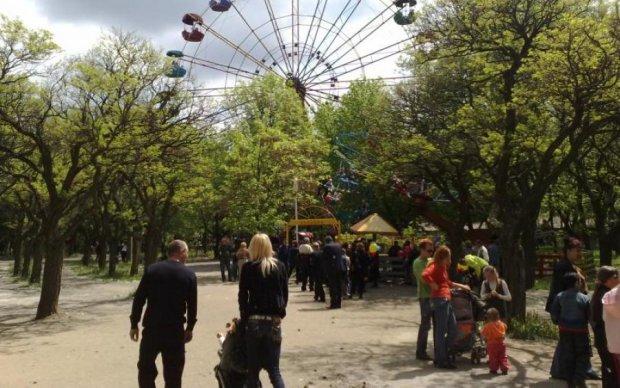 Мелітопольській русалці заборонили ходити без ліфчика: фото