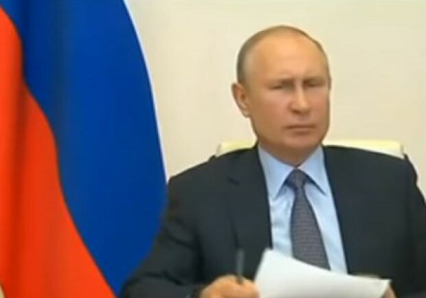 Володимир Путін, скріншот: YouTube