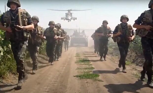 украинская армия, скриншот из видео