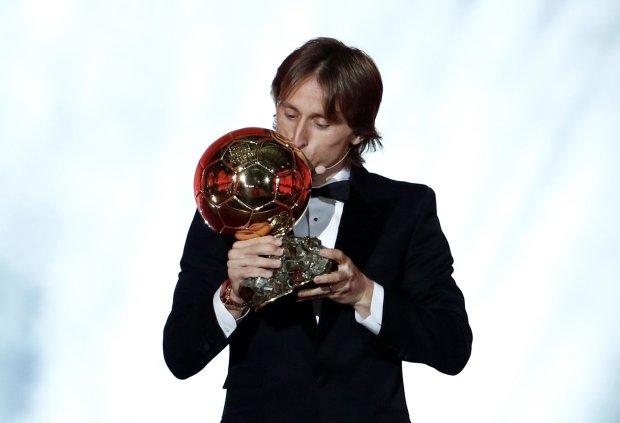 Лука Модрич получил Золотой мяч-2018