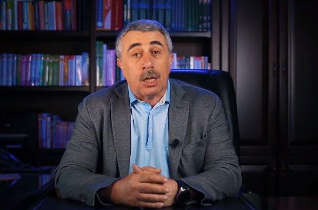 Доктор Комаровский, скрин из видео