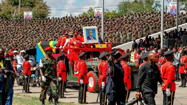 похорон президента Танзанії, фото PSCU