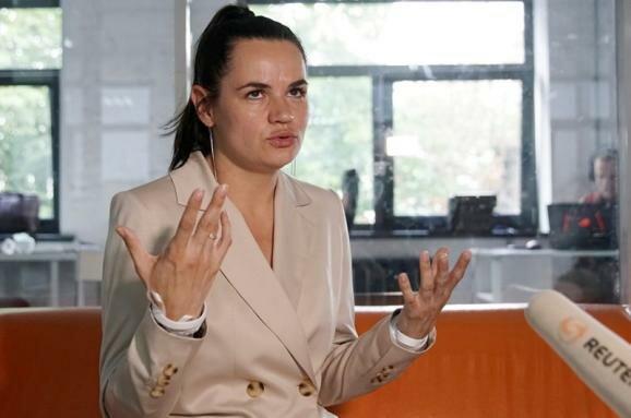 Світлана Тихановська, скрін з відео