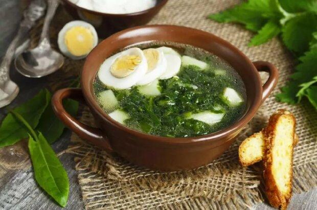 Суп зі щавлем, фото: postila