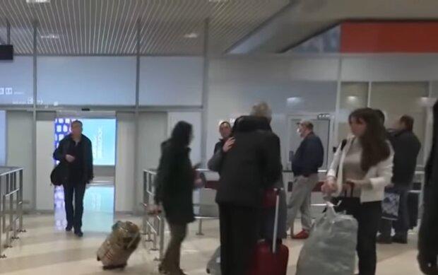 Эвакуация украинцев, скриншот: YouTube
