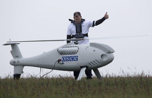 Безпілотник ОБСЄ зазняв військовий злочин путінських бойовиків: перемир'ям і не пахне