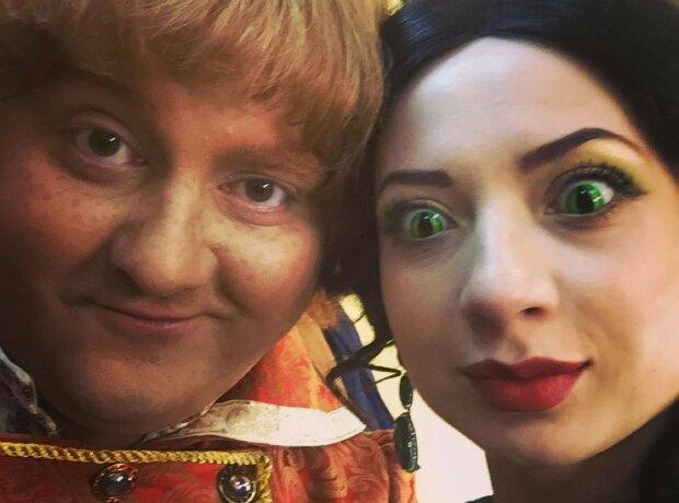 Юра Ткач и Ира Сопонару, фото: Instagram Сопонару