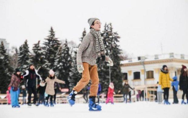 Київський ВДНГ перетворять на парк зимових розваг