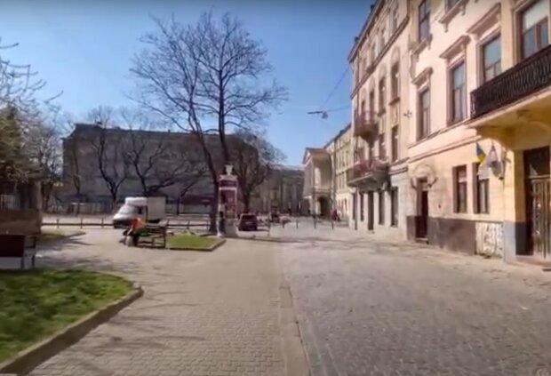 Львов, скриншот из видео