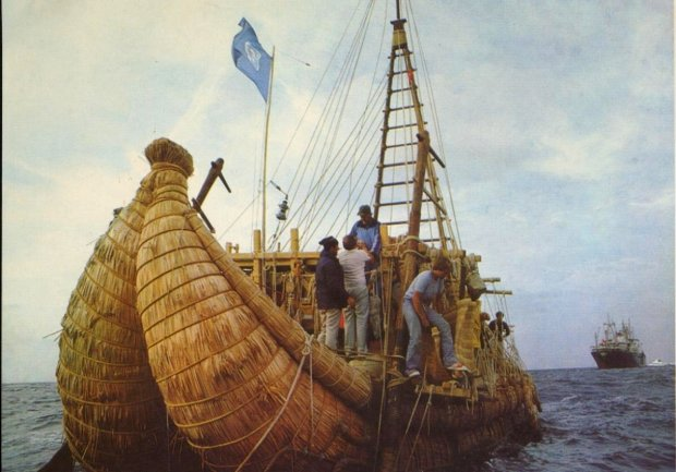 путешествие на папирусной лодке