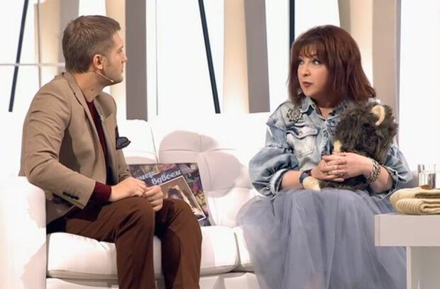 Катя Семенова на интервью, скриншот из видео