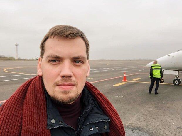Гончарук приземлился в обновленном аэропорту Запорожья, грядут изменения: премьер раскрыл грандиозные планы