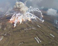 пожежа на військовому складі