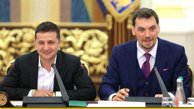 Владимир Зеленский и Алексей Гончарук