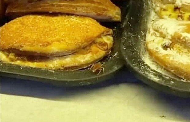 Украинцам щедро впаривают пирожки с тараканами: яблочки, усики и противные лапки
