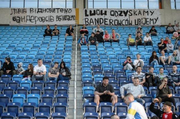 Поляку загрожує  в'язниця за антиукраїнський банер