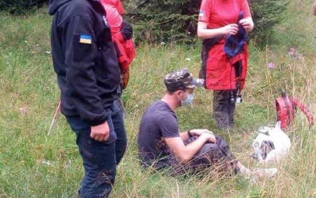 В Карпатах ползучая тварь атаковала туриста - прогрызла даже берцы