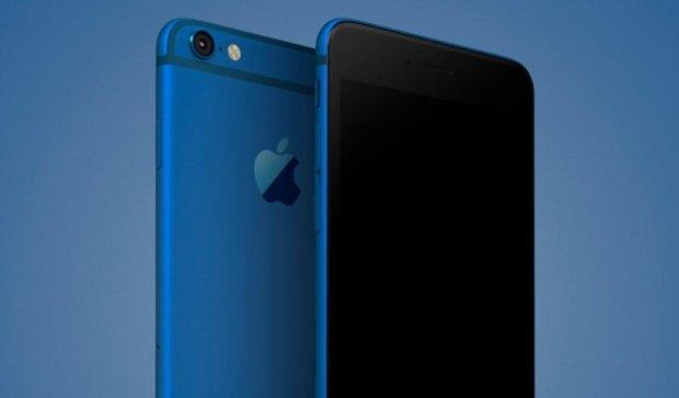 Сьомий iPhone посиніє
